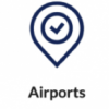 Airport Logo Button